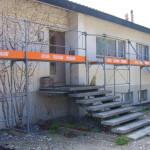 Restauration der Außenfassade FS Wanddesign vorher